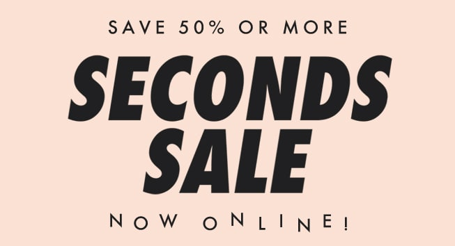 Seconds Sale 2018