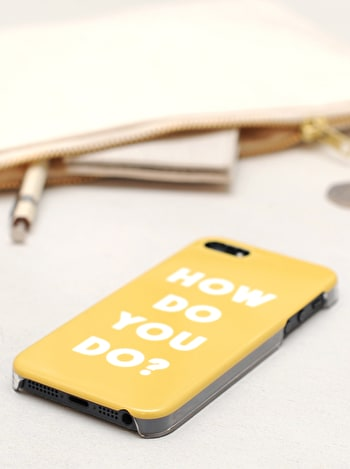 Photo of How Do You Do? - iPhone 5/5S/SE Case