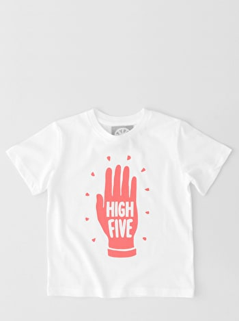 High Five Raspberry - Kid's T-Shirts
