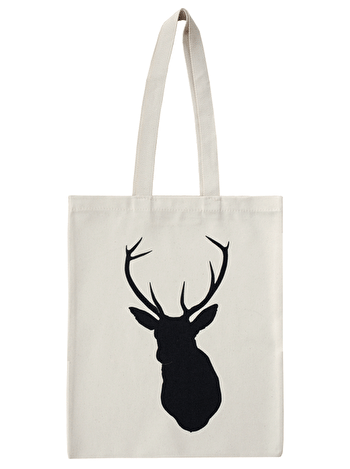 Stag - Cotton Tote Bag