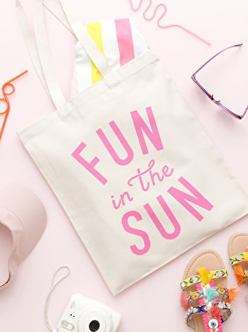 Photo of Fun in the Sun - Cotton Tote Bag
