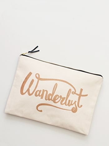 Photo of Wanderlust - Extra Large Travel Pouch