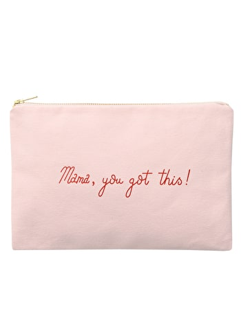 Mama, You Got This! - Blush Pink Pouch