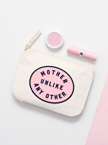 Mother Unlike Any Other - Little Canvas Pouch - Second