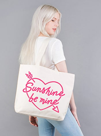 Sunshine Be Mine Canvas Bag | Beach Bags | Alphabet Bags