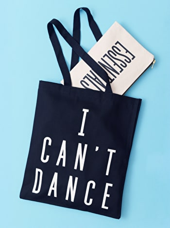 Photo of I Can't Dance - Cotton Tote Bag