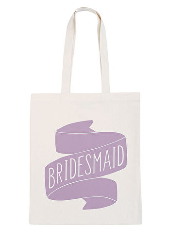 Bridesmaid Tote Bag | Canvas Wedding Tote | Alphabet Bags