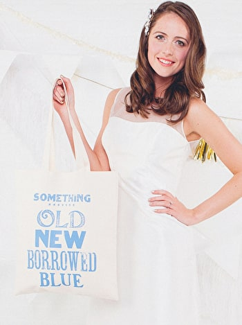 Photo of Something Old - Wedding Tote Bag
