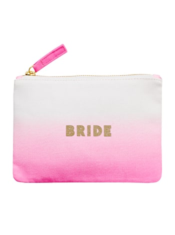 Photo of Bride Ombré - Wedding Pouch