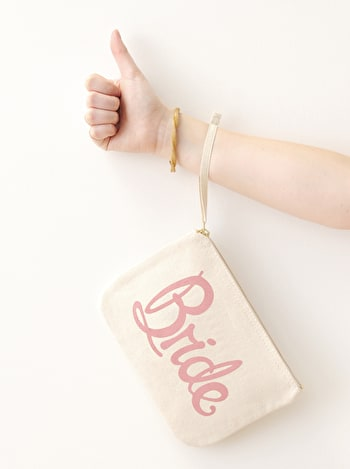 Bride Pouch | Bride Clutch Bag | Alphabet Bags