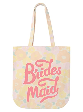 Bridesmaid - Floral Canvas Wedding Bag