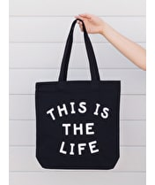 This is the Life - Canvas Tote Bag
