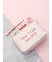 You Look Lovely - Makeup Bag