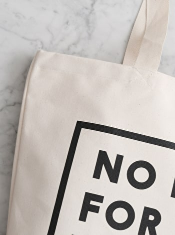 Photo of No Rest for the With Kid - Big Canvas Tote Bag
