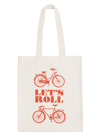 Let's Roll Tote Bag | Laura Seaby | Alphabet Bags