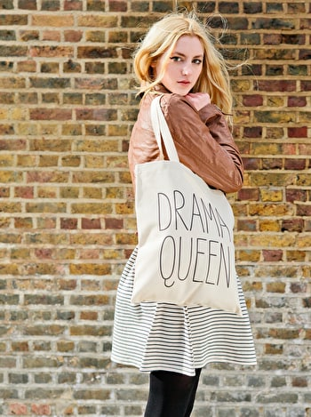Photo of Drama Queen - Cotton Tote Bag