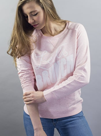 Photo of Let's Brunch - Pink Sweatshirt