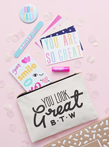Photo of You Look Great B.T.W - Goody Pouch Gift Set