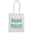 Just Married - Wedding Tote Bag