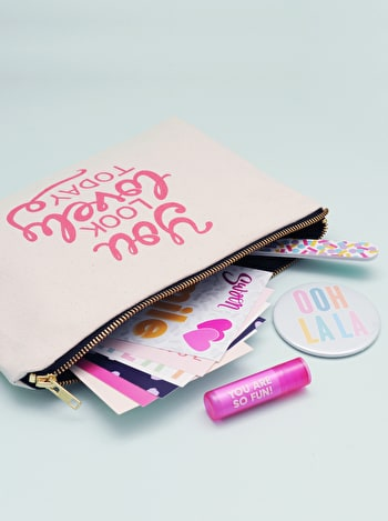 Photo of You Look Lovely Today - Goody Pouch Gift Set