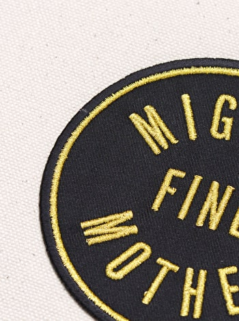 Mighty Fine Mother Little Pouch | Gifts For Mothers | Alphabet Bags