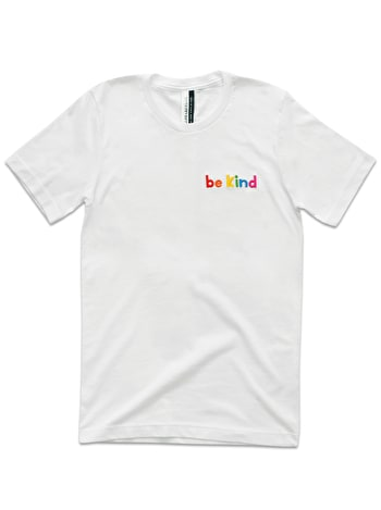 Photo of Be Kind - Embroidered T-Shirt