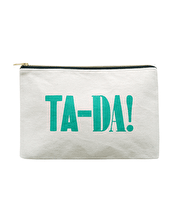 Ta-Da! - Large Canvas Pouch
