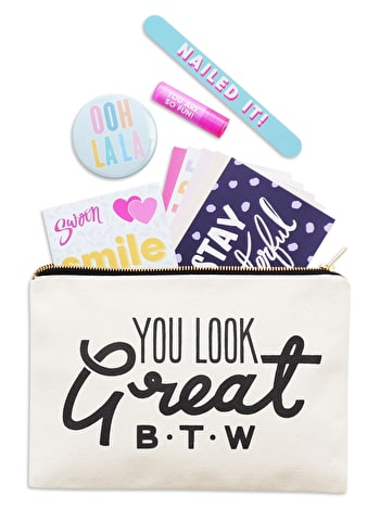 You Look Great B.T.W - Goody Pouch Gift Set
