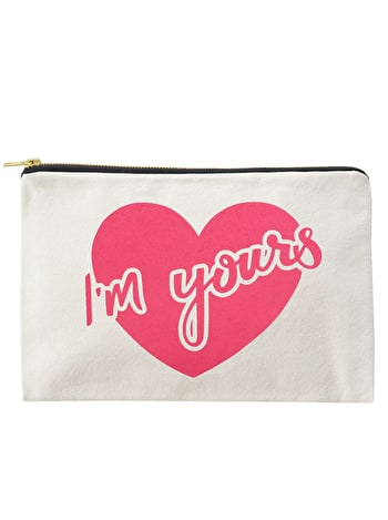 I'm Yours - Large Canvas Pouch