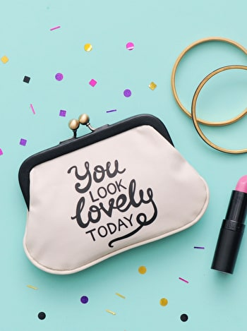 You Look Lovely Today Coin Purse | Coin Purse | Alphabet Bags