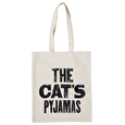 The Cat's Pyjamas - Cotton Tote Bag