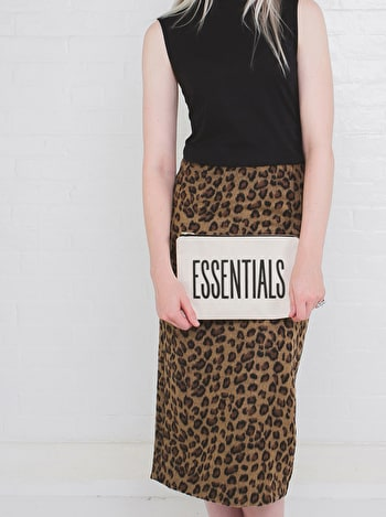 Essentials Canvas Pouch | Cotton Pencil Case | Alphabet Bags