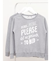 Back to Bed - Womens Sweatshirt