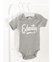 Exhausting - Baby Bodysuit