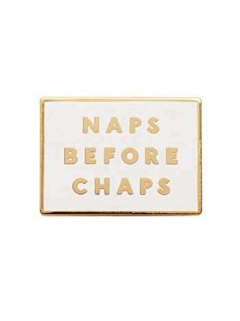 Photo of Naps Before Chaps - Enamel Pin