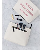 Beauty Comes From Within - Wash Bag