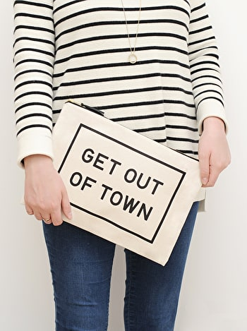 Photo of Get Out of Town - Extra Large Travel Pouch