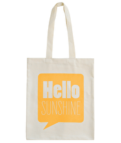 Hello Sunshine - Cotton Tote Bag