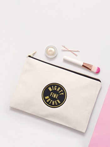 Photo of Mighty Fine Mother - Large Canvas Pouch