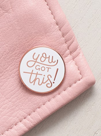 Photo of You Got This - Enamel Pin