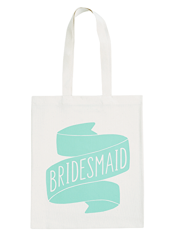 Bridesmaid Mint - Wedding Tote Bag