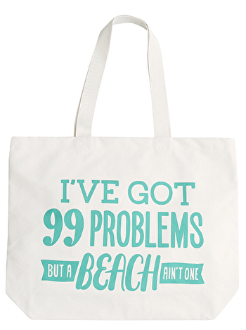 Photo of 99 Problems - Big Canvas Tote Bag