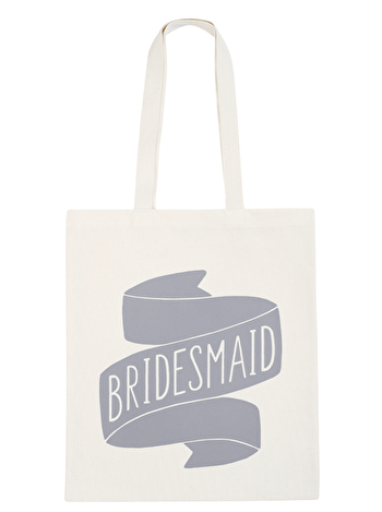 Bridesmaid Grey - Wedding Tote Bag