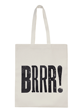 Brrr! - Cotton Tote Bag