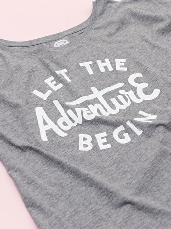 Photo of Let the Adventure Begin - Womens T-Shirt