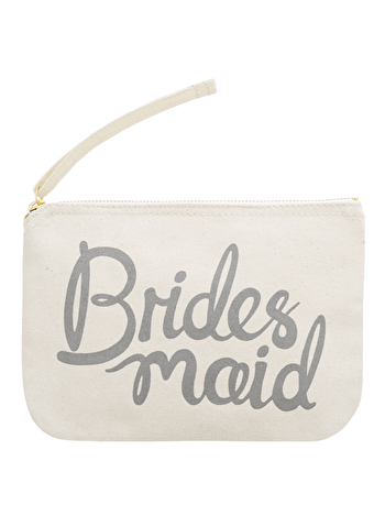 Bridesmaid Grey - Wedding Pouch