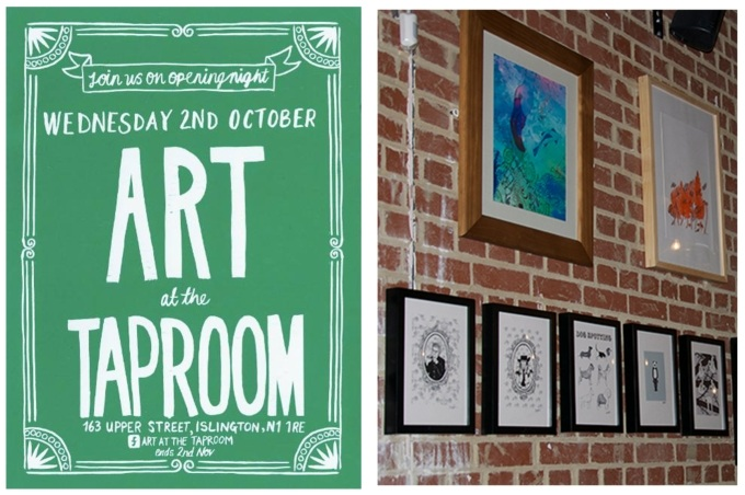 Last chance: Visit Our Staff Artists at the Taproom