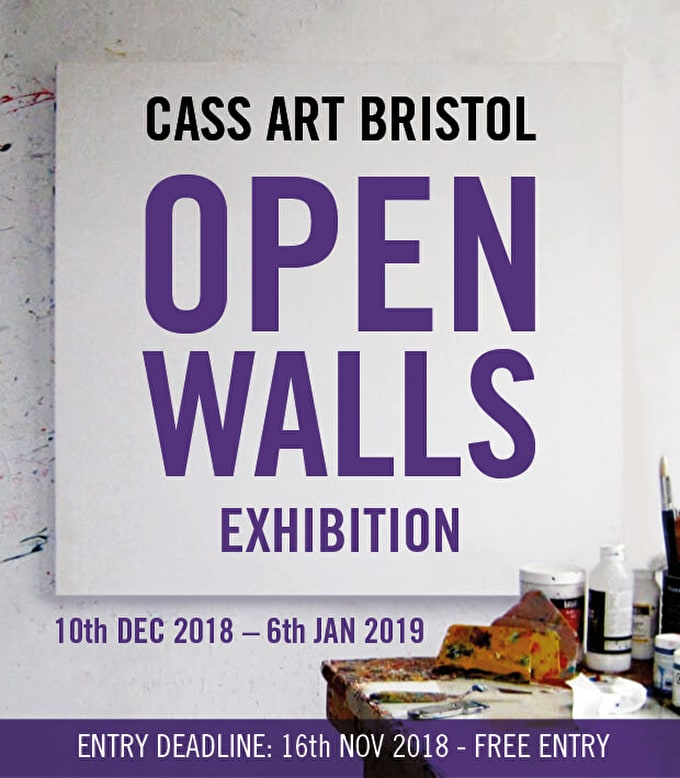 OPEN WALLS - Open call exhibition, Cass Art Bristol