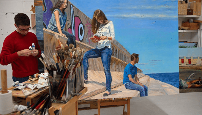 Artist Interview: Michele Del Campo Gives Professional Insight On Oil Painting
