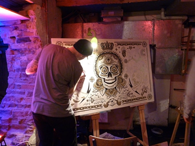 WATCH: Liquitex paint marker launch event: Shoreditch to Saatchi